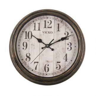 190-98734 zidni sat okrugli 28cm